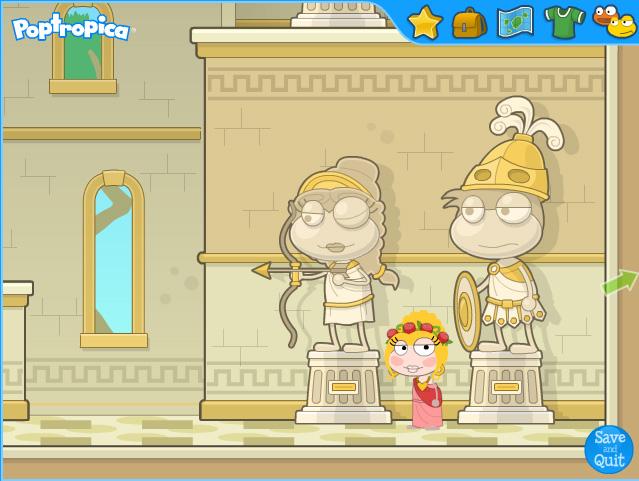 Poptropica Mythology Cheats
