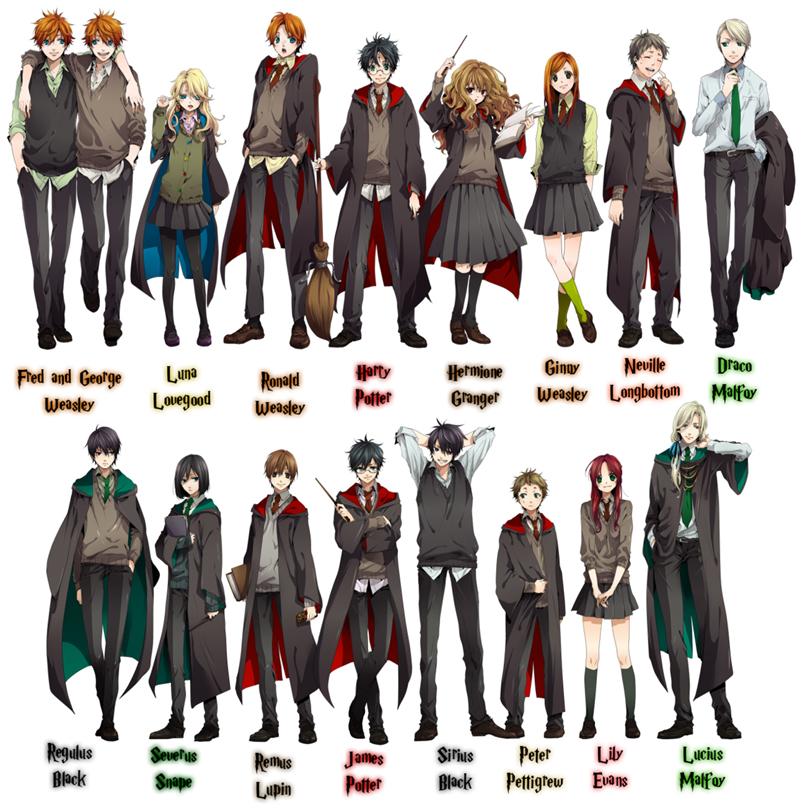 If Harry Potter is an Anime   Harry Potter Anime Episode 1
