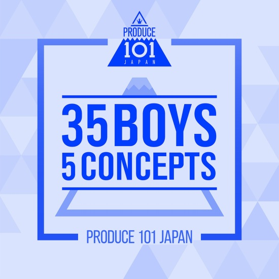 produce 101 Japan 35 boys 5 concepts
